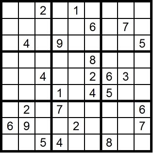 Sudoku facile - Grille de sudoku diabolique ...